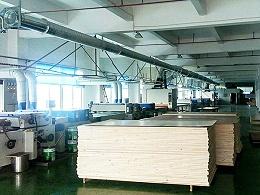 实木3D板厂家松博宇-工厂生产车间