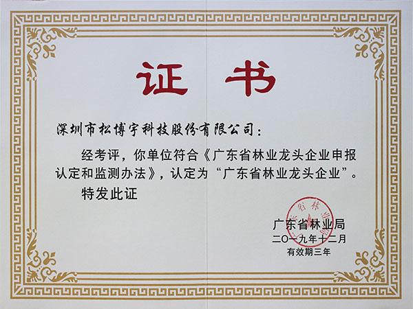 广东省林业龙头企业