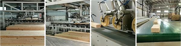 实木格栅墙板4.0自动化生产