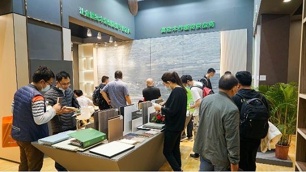petg高光柜门板厂家松博宇勇于创新的匠心精神尽在广州家具定制展